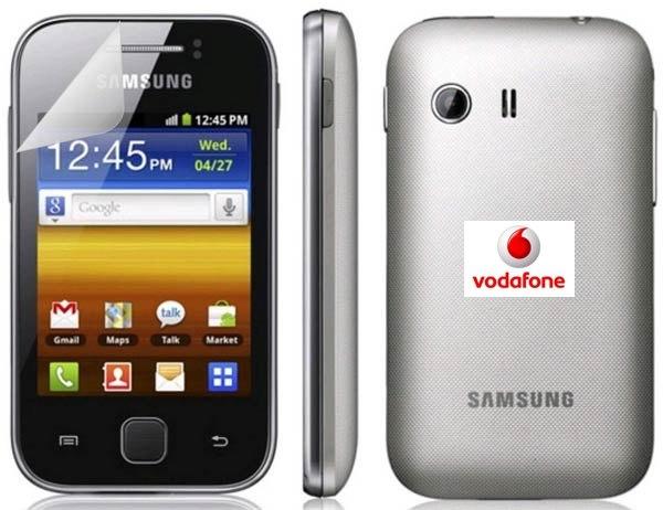 Samsung Galaxy Y Vodafone, precios y tarifas