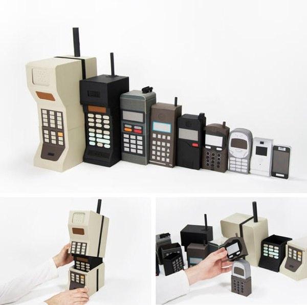 Cinco móviles con historia