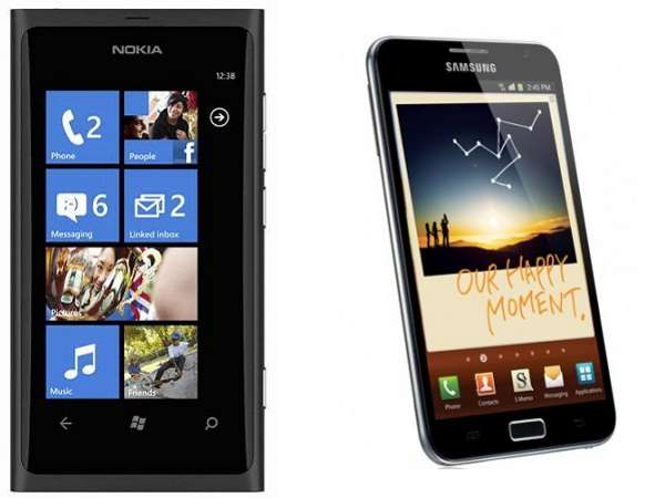 Nokia y Samsung líderes indiscutibles en ventas de móviles
