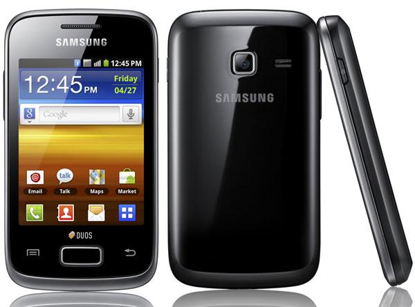 Llegan a Europa los Samsung Galaxy Y Duos y Galaxy Y Pro Duos