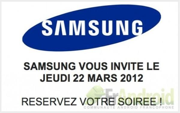 Samsung asegura que Samsung Galaxy S3 no saldrá en marzo