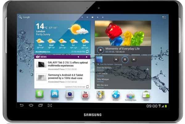Samsung Galaxy Tab 2 10.1, análisis y opiniones