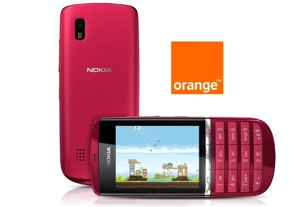Nokia Asha 300 con Orange, precios y tarifas