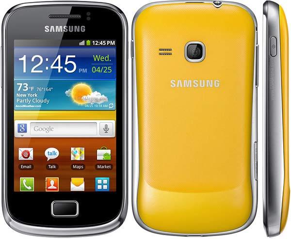Samsung Galaxy Mini 2 podría costar 280 euros en formato libre