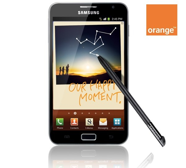 Samsung Galaxy Note con Orange, precios y tarifas