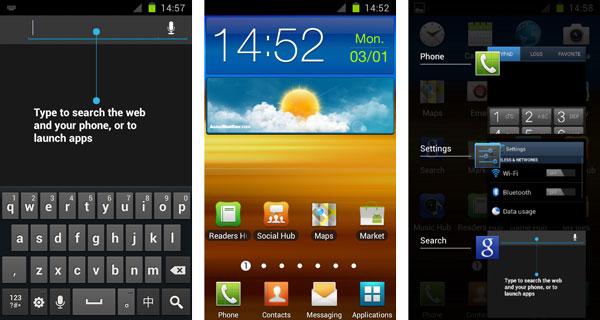 Android 4.0 llegará al Samsung Galaxy S2 a partir del 15 de marzo