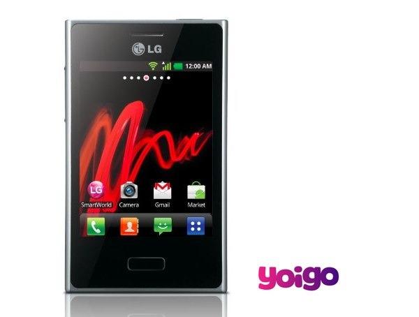 LG Optimus L3 con Yoigo, precios y tarifas