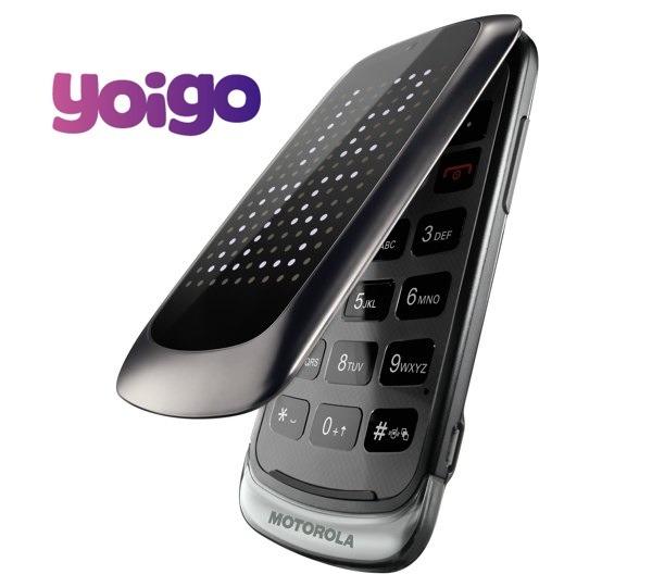 Motorola Gleam + con Yoigo, precios y tarifas