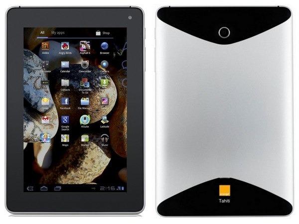 Orange Tahití, tableta con Android a partir de 70 euros