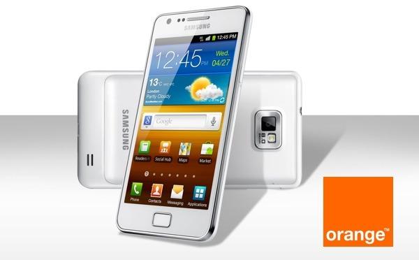 Samsung Galaxy S2 de Orange se actualiza a Android 4.0
