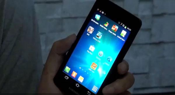 Samsung Galaxy S3, cazado en vídeo