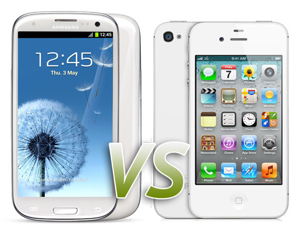 Comparativa: Samsung Galaxy S3 vs iPhone 4S ...