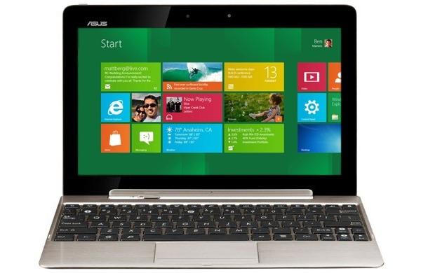 Tablet de Asus con Windows 8, igual a la Transformer Prime