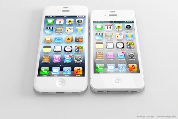 Así luciría un iPhone 5 con pantalla de 4 pulgadas