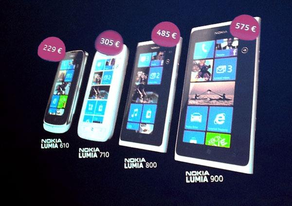 Nokia Lumia Precios