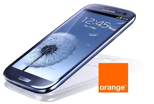 Samsung Galaxy S3 con Orange, precios y tarifas
