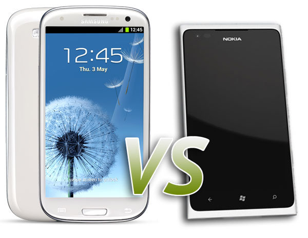 Samsung Galaxy S3 vs Nokia Lumia 900