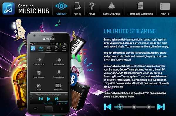 Samsung Music Hub, el Spotify del Samsung Galaxy S3