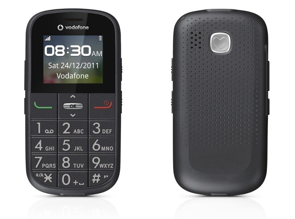 Vodafone 155 Simplicity, nuevo móvil para personas mayores