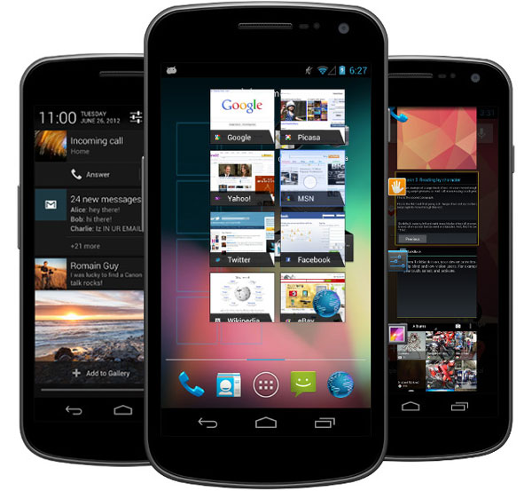 Filtrada una ROM de Android 4.1 para el Galaxy Nexus