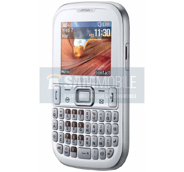 Samsung GT-E1260B, económico móvil con teclado completo