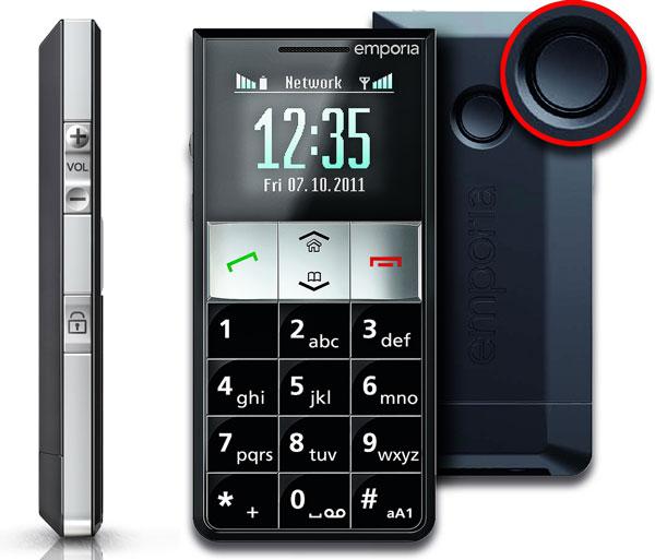 Emporia RL2, móvil económico con servicio asistencial para mayores