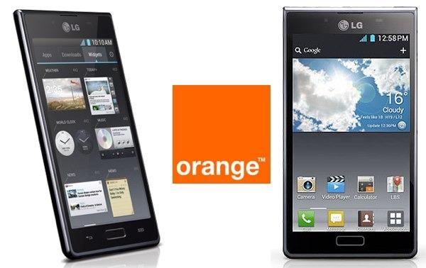LG Optimus L7 con Orange, precios y tarifas