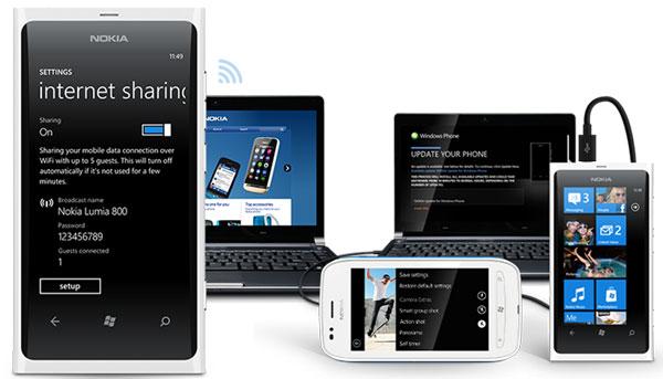 Nueva actualización para los Nokia Lumia 710 y Nokia Lumia 800