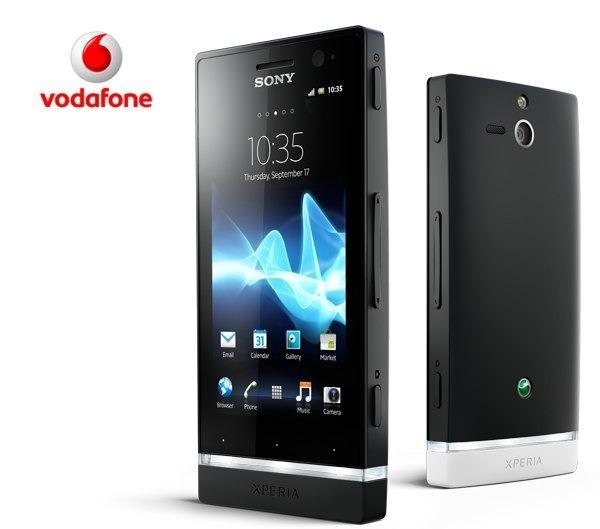 Sony Xperia U con Vodafone, precios y tarifas