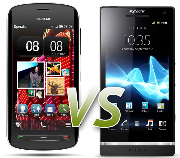 Comparativa: Nokia 808 PureView Vs Sony Xperia S