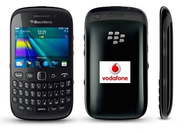 BlackBerry Curve 9220 con Vodafone, precios y tarifas