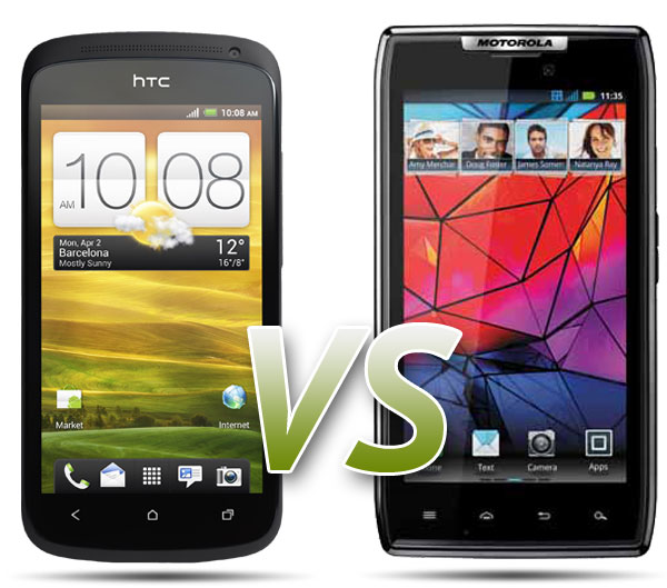 Comparativa: HTC One S vs Motorola RAZR