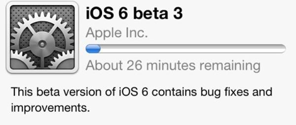 iOS 6, el sistema para iPhone y iPad, aparece en su tercera Beta