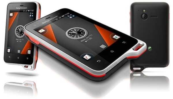 moviles para playa sony xperia active