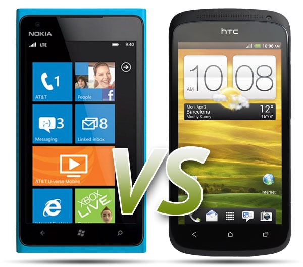 Comparativa: Nokia Lumia 900 Vs HTC One S