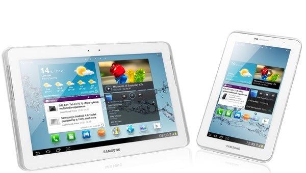 Samsung Galaxy Tab 2 en España desde 250 euros