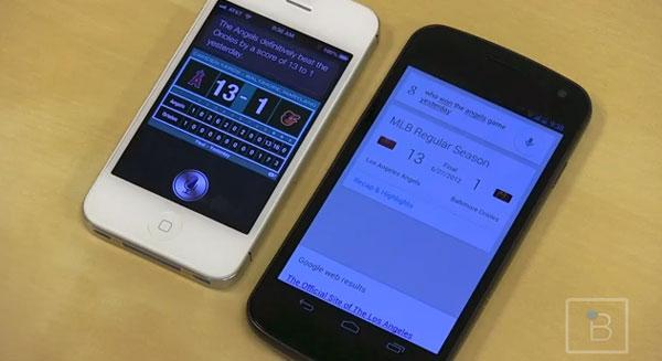 Android trae las mismas funciones de Siri, el asistente de voz del iPhone