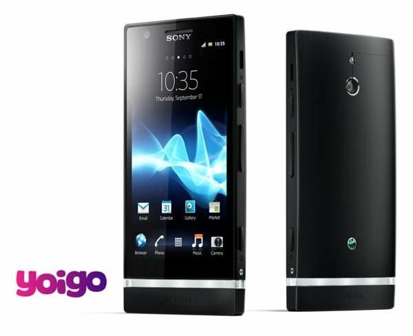 Sony Xperia P con Yoigo, precios y tarifas