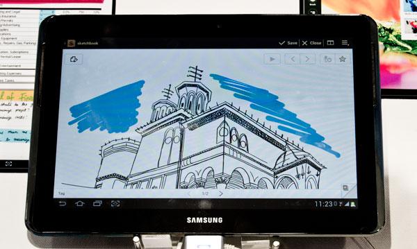 Anunciado oficialmente el Samsung Galaxy Note 10.1