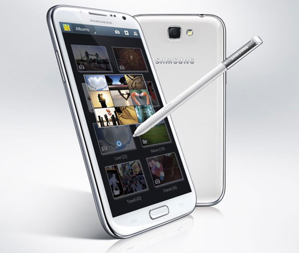 Primeros precios para el Samsung Galaxy Note 2