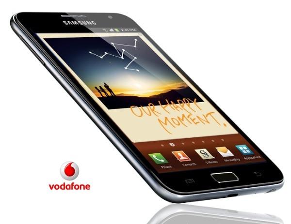 Precios de Samsung Galaxy Note con Vodafone para nuevos clientes
