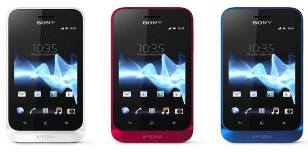 El lanzamiento europeo del Sony Xperia Tipo comienza el 8 de agosto