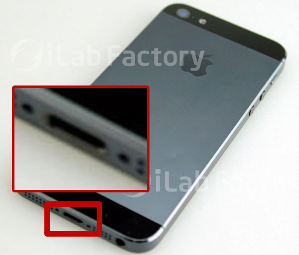 El conector del iPhone 5 podría ser más pequeño de lo esperado