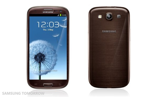 samsung galaxy s3 marron