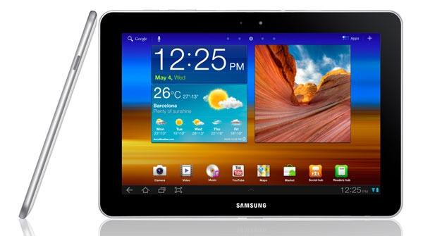 Android 4.0 empieza a llegar al Samsung Galaxy Tab 10.1