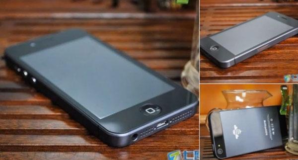 iPhone 5 con Android, o el extraño sueño de la imitación china
