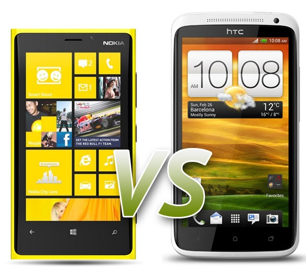 Comparativa: Nokia Lumia 920 vs HTC One X