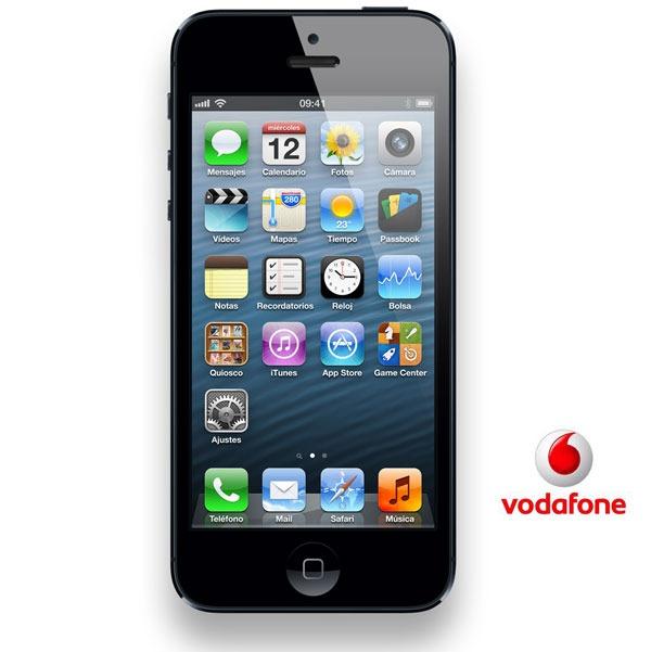iPhone 5 con Vodafone, precios para conseguir el iPhone 5