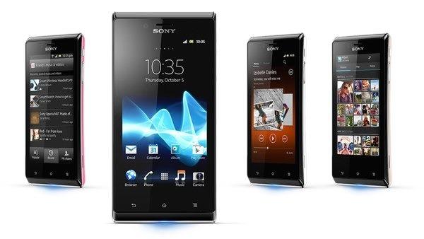 El Sony Xperia J estará disponible por unos 240 euros