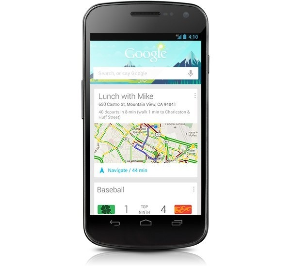 now google android 42